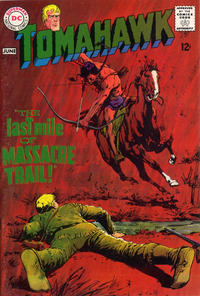 Cover Thumbnail for Tomahawk (DC, 1950 series) #116