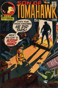Cover Thumbnail for Tomahawk (DC, 1950 series) #134