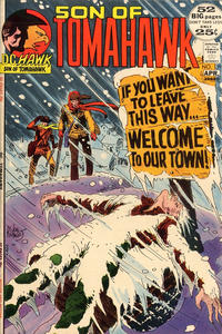 Cover Thumbnail for Tomahawk (DC, 1950 series) #139