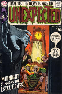 Cover Thumbnail for The Unexpected (DC, 1968 series) #117