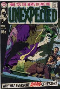 Cover Thumbnail for The Unexpected (DC, 1968 series) #118
