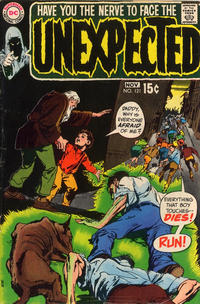 Cover Thumbnail for The Unexpected (DC, 1968 series) #121