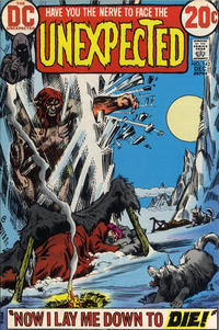 Cover for The Unexpected (DC, 1968 series) #142