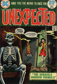 Cover Thumbnail for The Unexpected (DC, 1968 series) #154