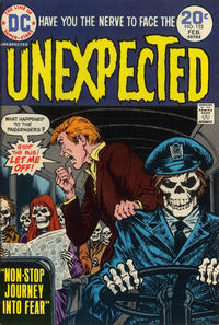 Cover for The Unexpected (DC, 1968 series) #155