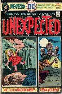 Cover Thumbnail for The Unexpected (DC, 1968 series) #168