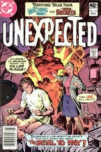Cover Thumbnail for The Unexpected (DC, 1968 series) #196