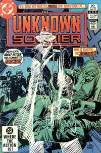 Cover Thumbnail for Unknown Soldier (DC, 1977 series) #268 [Direct]