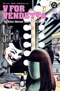 Cover Thumbnail for V for Vendetta (DC, 1988 series) #1