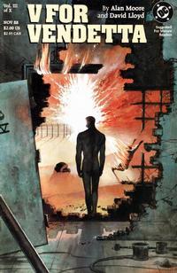 Cover Thumbnail for V for Vendetta (DC, 1988 series) #3
