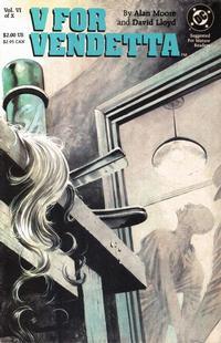 Cover Thumbnail for V for Vendetta (DC, 1988 series) #6