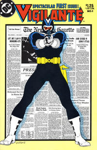 Cover Thumbnail for The Vigilante (DC, 1983 series) #1