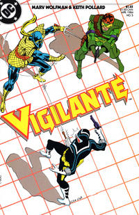 Cover Thumbnail for The Vigilante (DC, 1983 series) #5