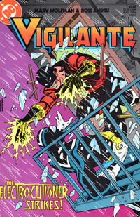 Cover Thumbnail for The Vigilante (DC, 1983 series) #9