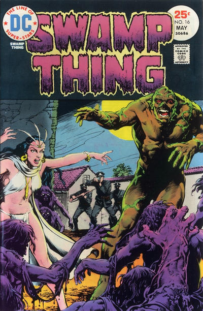 Cover for Swamp Thing (DC, 1972 series) #16