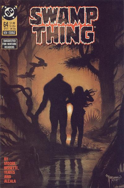 Cover for Swamp Thing (DC, 1985 series) #64