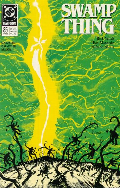 Cover for Swamp Thing (DC, 1985 series) #85