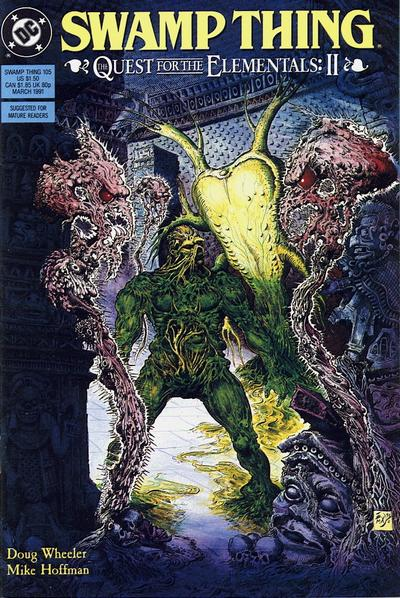Cover for Swamp Thing (DC, 1985 series) #105