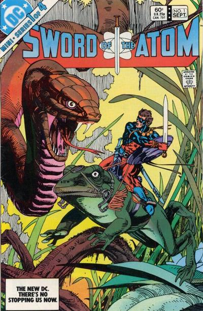 Cover for Sword of the Atom (DC, 1983 series) #1 [Direct]