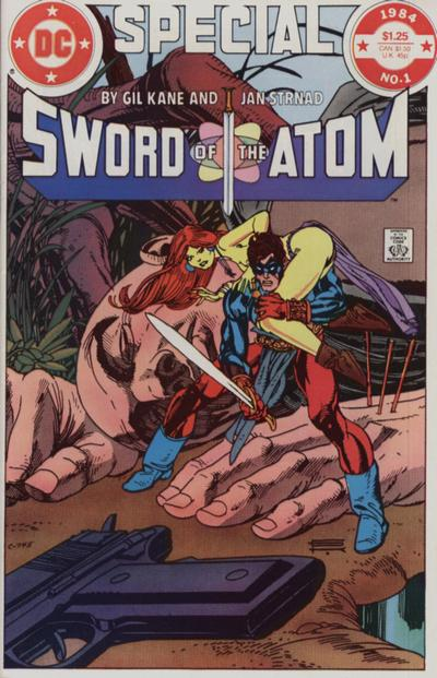 Cover for Sword of the Atom Special (DC, 1984 series) #1 [Newsstand]