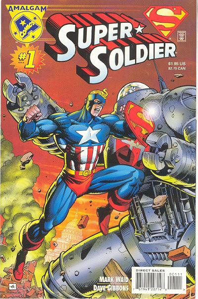 Cover for Super Soldier (DC, 1996 series) #1
