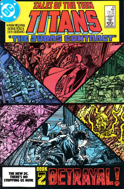 Cover for Tales of the Teen Titans (DC, 1984 series) #43 [Direct]