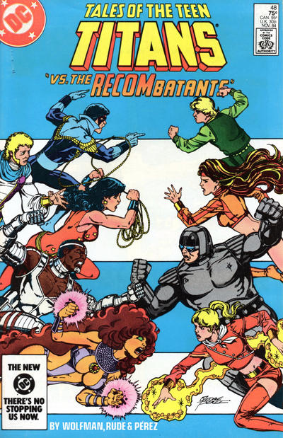Cover for Tales of the Teen Titans (DC, 1984 series) #48 [Direct]