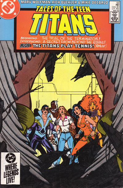 Cover for Tales of the Teen Titans (DC, 1984 series) #53