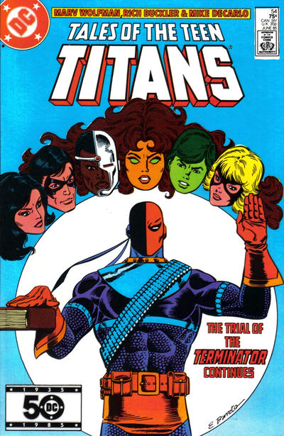 Cover for Tales of the Teen Titans (DC, 1984 series) #54