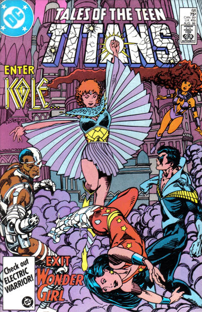 Cover for Tales of the Teen Titans (DC, 1984 series) #68 [Direct Sales]