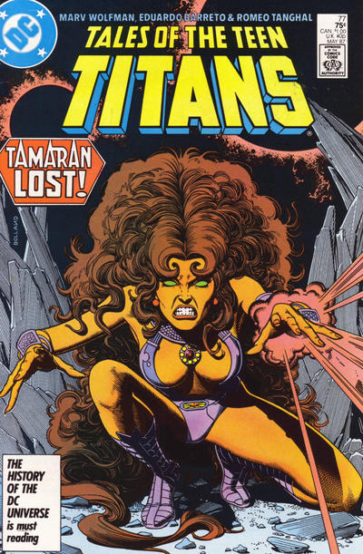Cover for Tales of the Teen Titans (DC, 1984 series) #77 [Direct]