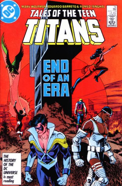 Cover for Tales of the Teen Titans (DC, 1984 series) #78 [Direct Sales]