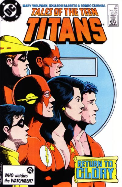 Cover for Tales of the Teen Titans (DC, 1984 series) #79 [Direct Sales]