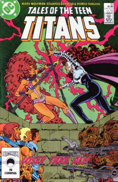 Cover for Tales of the Teen Titans (DC, 1984 series) #83 [Direct]