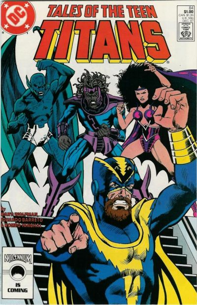 Cover for Tales of the Teen Titans (DC, 1984 series) #84 [Direct Sales]