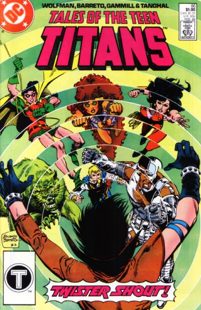 Cover for Tales of the Teen Titans (DC, 1984 series) #86 [Direct]