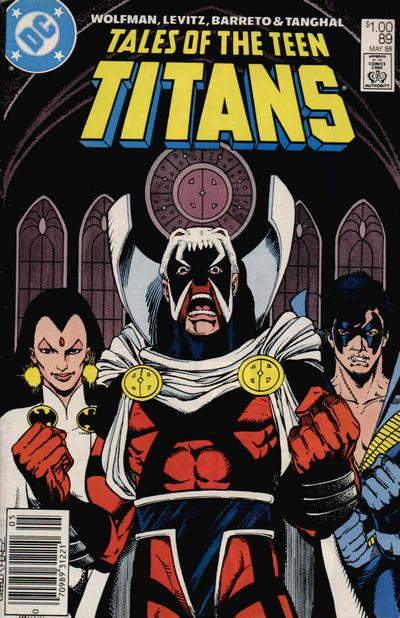 Cover for Tales of the Teen Titans (DC, 1984 series) #89 [Direct Sales Variant]