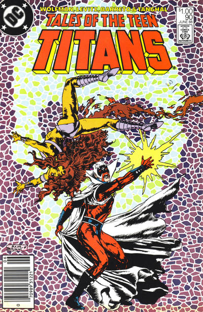 Cover for Tales of the Teen Titans (DC, 1984 series) #90 [Direct Sales]