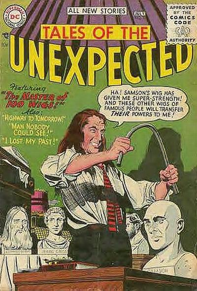 Cover for Tales of the Unexpected (DC, 1956 series) #3