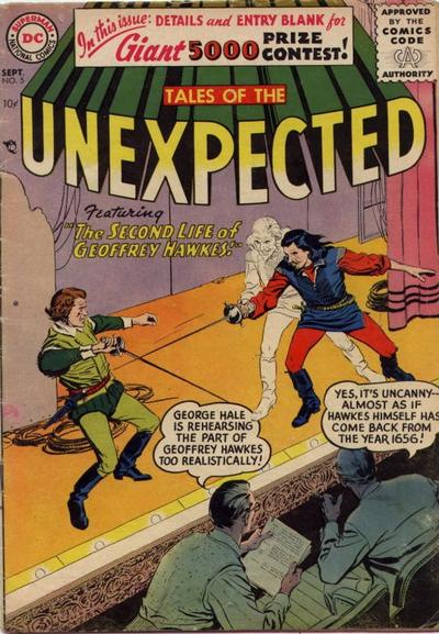 Cover for Tales of the Unexpected (DC, 1956 series) #5