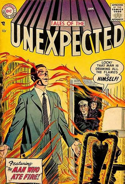 Cover for Tales of the Unexpected (DC, 1956 series) #9