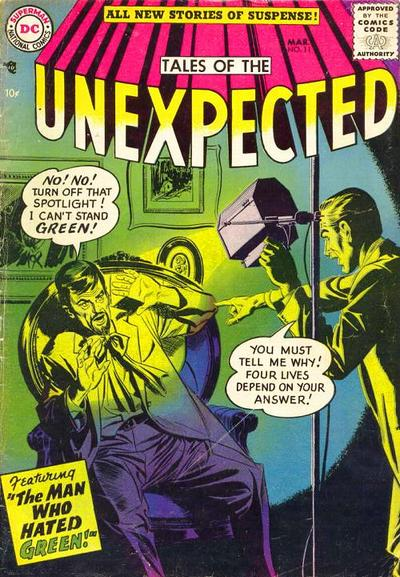 Cover for Tales of the Unexpected (DC, 1956 series) #11