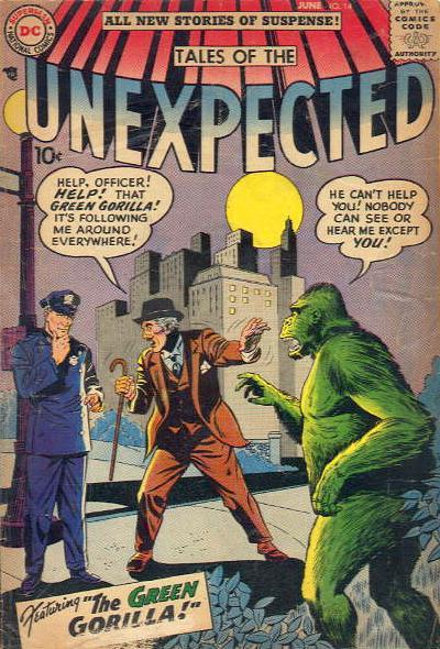 Cover for Tales of the Unexpected (DC, 1956 series) #14