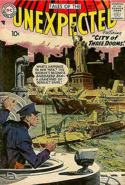 Cover for Tales of the Unexpected (DC, 1956 series) #15