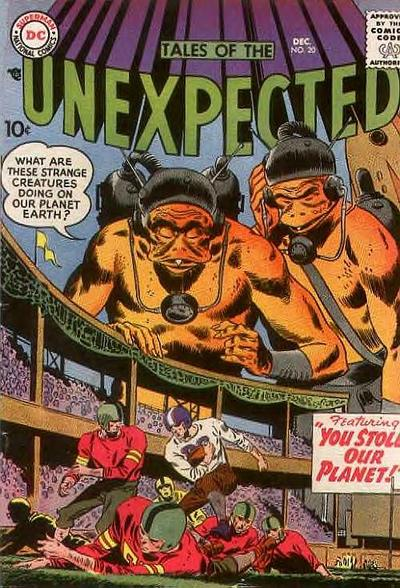 Cover for Tales of the Unexpected (DC, 1956 series) #20