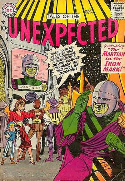 Cover for Tales of the Unexpected (DC, 1956 series) #25