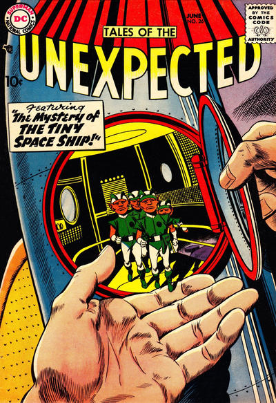 Cover for Tales of the Unexpected (DC, 1956 series) #26