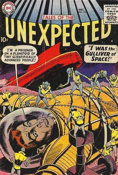 Cover for Tales of the Unexpected (DC, 1956 series) #32