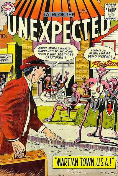 Cover for Tales of the Unexpected (DC, 1956 series) #33