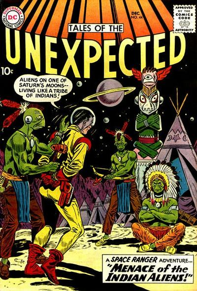 Cover for Tales of the Unexpected (DC, 1956 series) #44